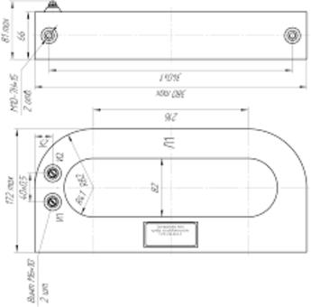 ТЗЛК-5 габаритные размеры